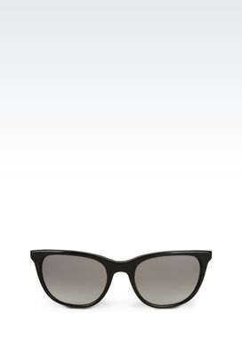 Armani sunglasses Women black cat-eye sunglasses