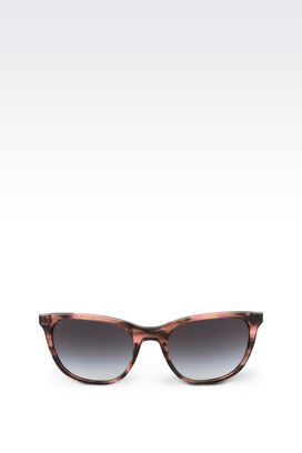 Armani sunglasses Women amber cat-eye sunglasses