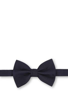 Armani Bow Ties Men striped silk jacquard bow tie