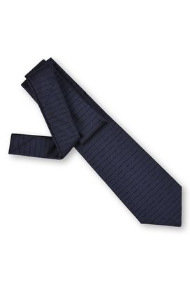 Armani Ties Men two tone patterned silk jacquard tie