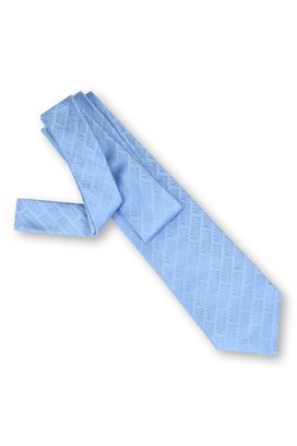Armani Cravatte Uomo cravatta in seta jacquard con logo all over