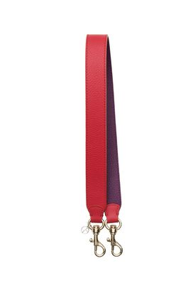 Armani Shoulder Straps Women two-colour deerskin print shoulder strap
