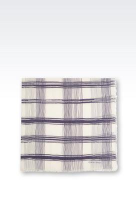 Armani Foulard Uomo foulard in misto seta