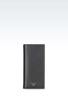 Armani Wallets Men small leather goods