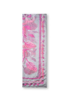 Armani Stoles Women floral print chiffon scarf