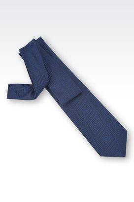 Armani Cravatte Uomo cravatta in jacquard di pura seta