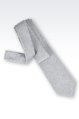 Armani Cravatte Uomo cravatta in jacquard di seta e cotone