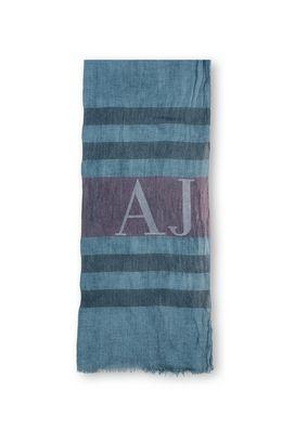 Armani Sciarpe Uomo sciarpa tessuto leggero a righe