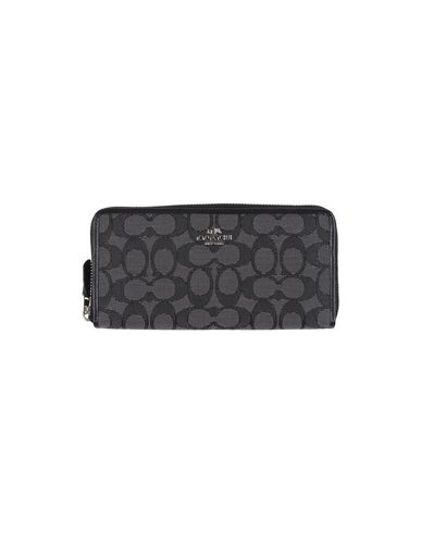 Image of COACH Small Leather Goods Wallets Women on YOOX.COM