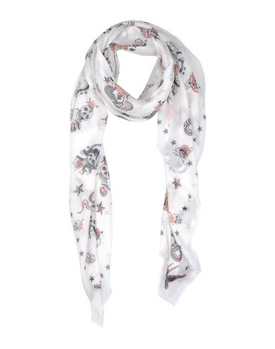 Image of ALEXANDER MCQUEEN ACCESSORIES Square scarves Unisex on YOOX.COM