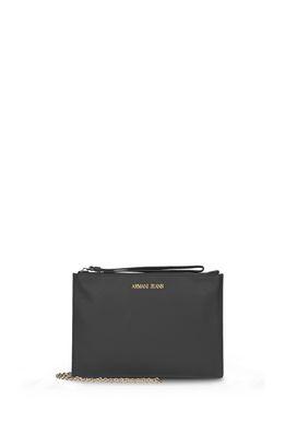 Armani Pouches Women solid colour faux leather bag