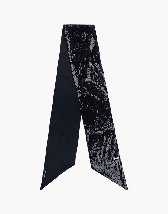 sequined satin scarf other accessories Man Dsquared2