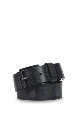 Armani Cinture in pelle Uomo cintura in pelle stampa logo