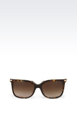 Armani Sunglasses Women full fitting acetate and metal sunglasses