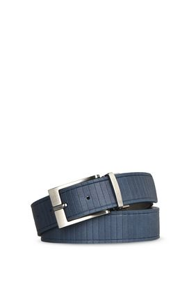 Armani Cinture reversibili Uomo cintura in pelle stampata reversibile