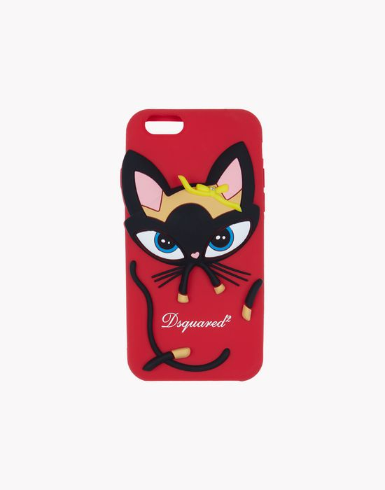 cat iphone 6 cover hi-tech Man Dsquared2