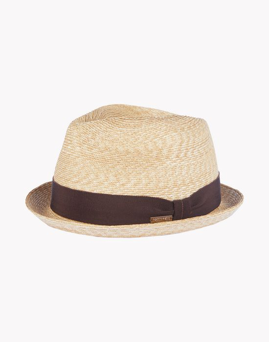 straw fedora complementos Hombre Dsquared2