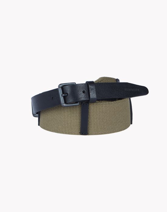 canvas leather belt belts Man Dsquared2