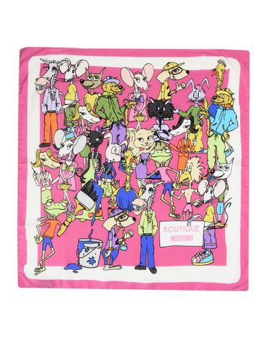 Image of BOUTIQUE MOSCHINO ACCESSORIES Square scarves Women on YOOX.COM