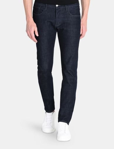 DARK RINSE SLIM FIT JEANS
