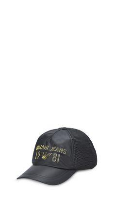 Armani Cappelli con visiera Uomo cappello baseball in tessuto tecnico con logo