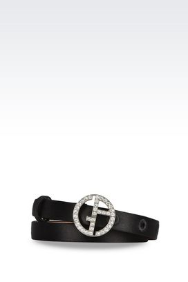 Armani Textile belts Women belts