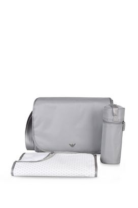 Armani Messenger bags Men 3 piece solid colour changing bag set