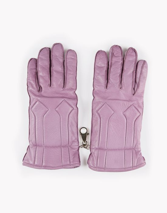 leather mountain gloves accessoires Homme Dsquared2
