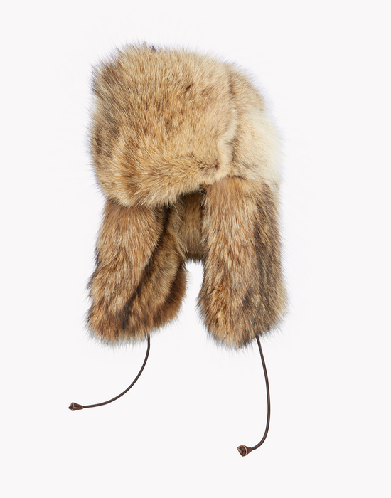 oversize fur aviator hat complementos Hombre Dsquared2
