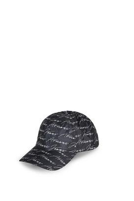 Armani Cappelli con visiera Uomo cappello baseball in stampa firma