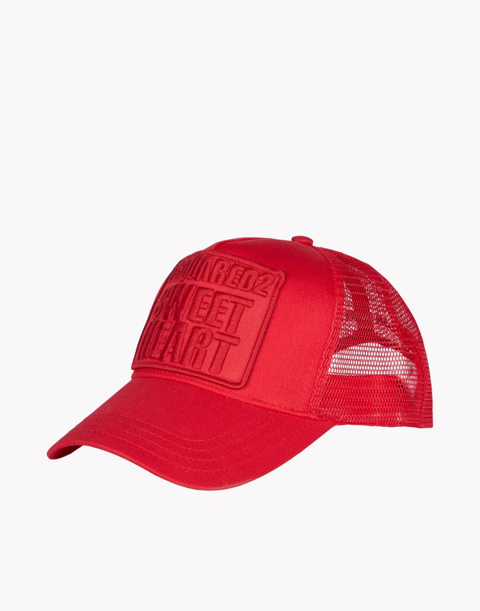 Dsquared2 Sweetheart Baseball Cap Red
