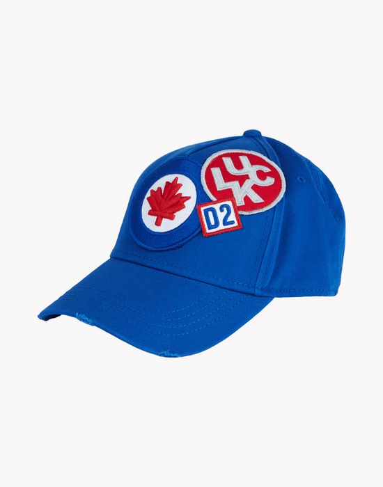 maple leaf patch baseball cap other accessories Man Dsquared2
