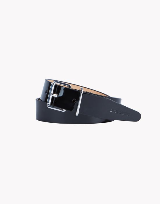 patent leather belt belts Man Dsquared2