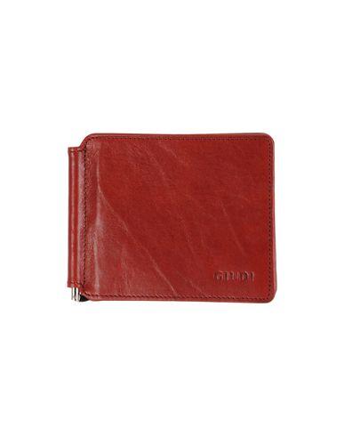 Бумажник GIUDI. Цвет: красно-коричневый