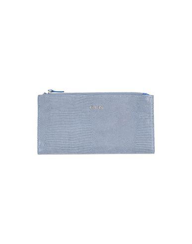 Бумажник GIUDI. Цвет: пастельно-синий