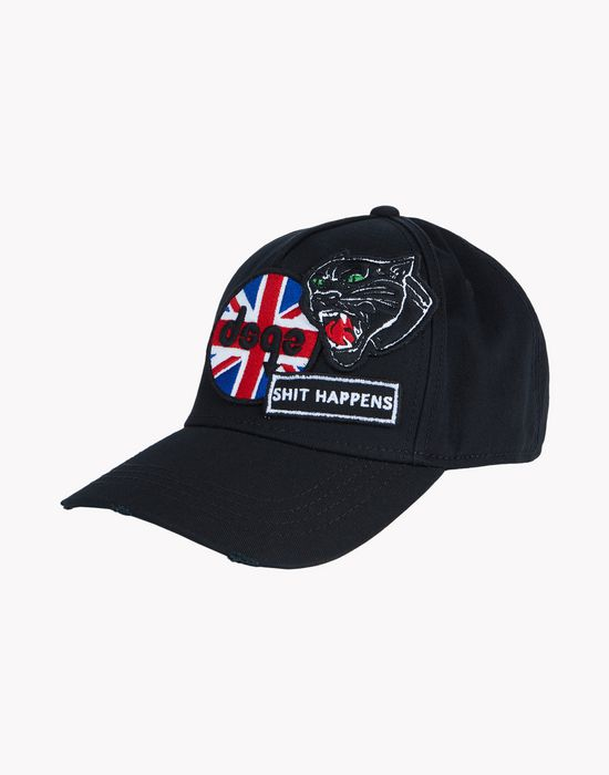 london patch baseball cap other accessories Man Dsquared2