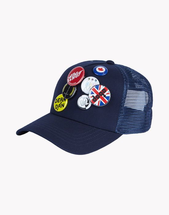 pin baseball cap other accessories Man Dsquared2