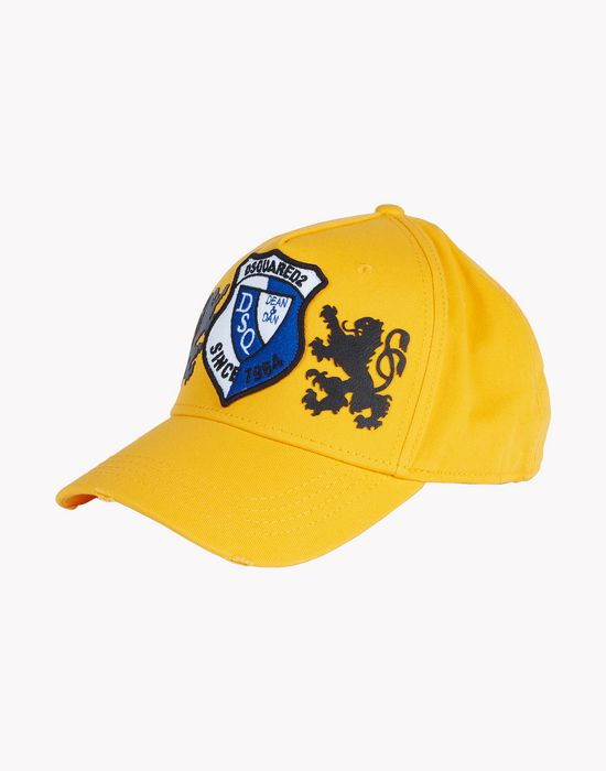 coat of arms baseball cap complementos Hombre Dsquared2