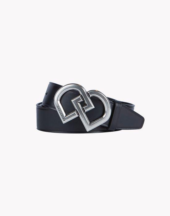 leather dd belt gürtel  Herren Dsquared2