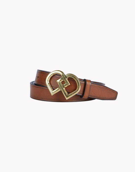 leather dd belt cinture Uomo Dsquared2