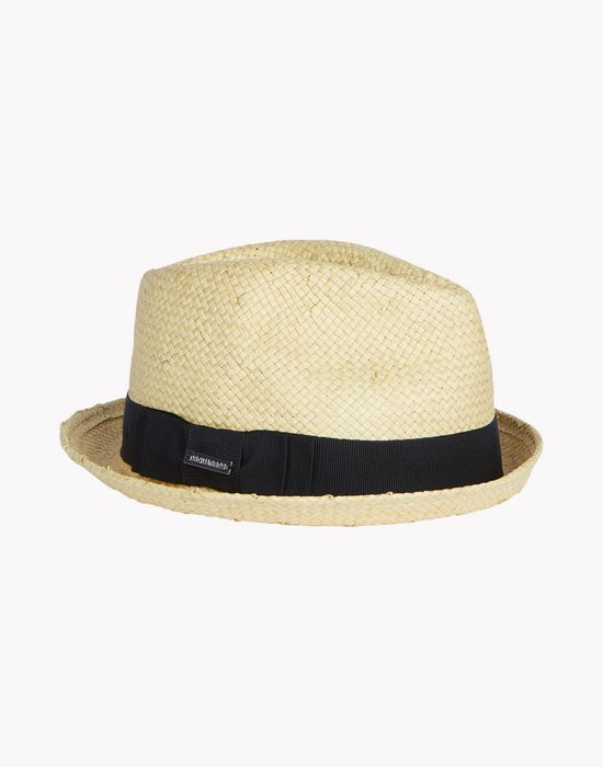 straw fedora other accessories Woman Dsquared2