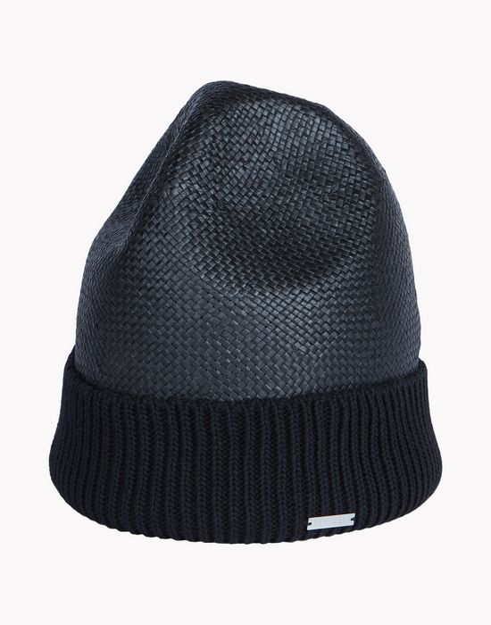 straw knit hat complementos Hombre Dsquared2