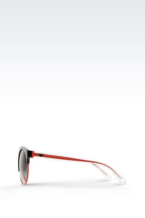 BICOLOR ROUND SUNGLASSES: sunglasses Women by Armani - 3