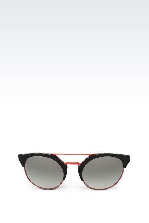 BICOLOR ROUND SUNGLASSES: sunglasses Women by Armani - 1