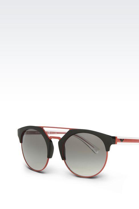 BICOLOR ROUND SUNGLASSES: sunglasses Women by Armani - 2