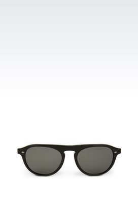 Armani Occhiali da sole Uomo occhiali da sole con montatura in acetato