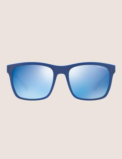 아르마니 익스체인지 Armani Exchange POOL BLUE RETRO SUNGLASSES,BLUE