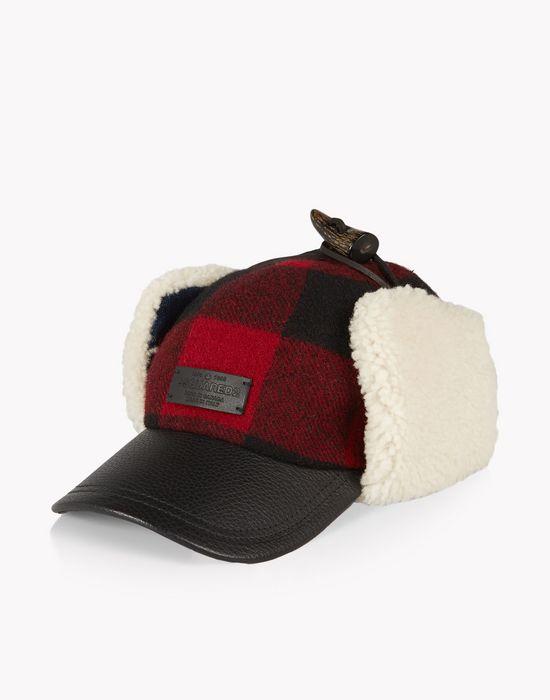 check trapper cap weitere accessoires Herren Dsquared2