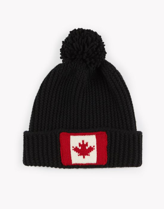 maple leaf knit beanie other accessories Man Dsquared2