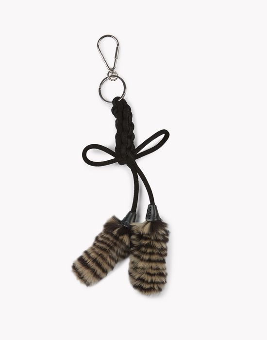 fur key ring weitere accessoires Damen Dsquared2